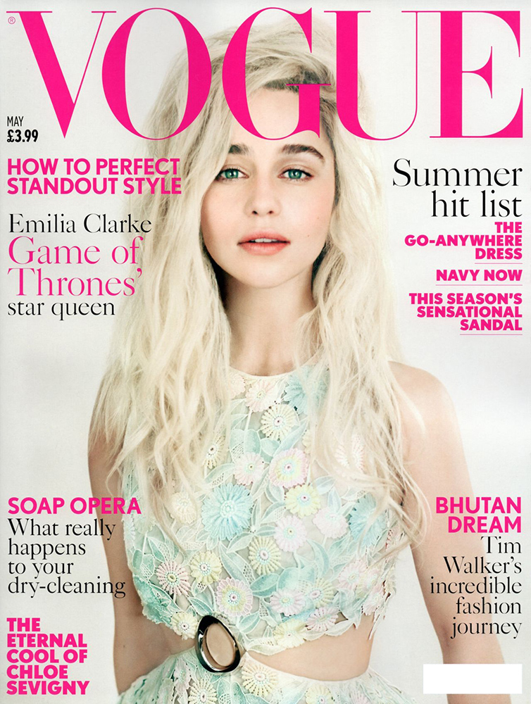 British Vogue Magazine May 2015