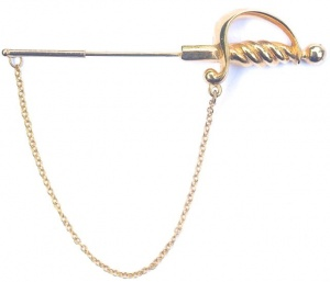 Vintage Sword Stick Pin by HA Vendome