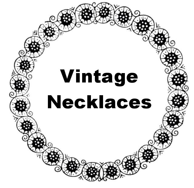 Vintage Necklaces Heading
