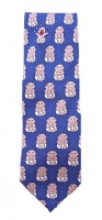 Tie Rack Ian Heath Italian Pure Silk Tie with a Baby Print