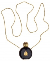 Lanvin Arpege Paris Perfume Bottle and Chain