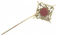 Vintage Fancy Gold Tone Stick Pin