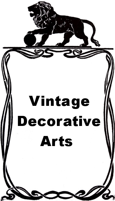 Vintage Decorative Arts Heading