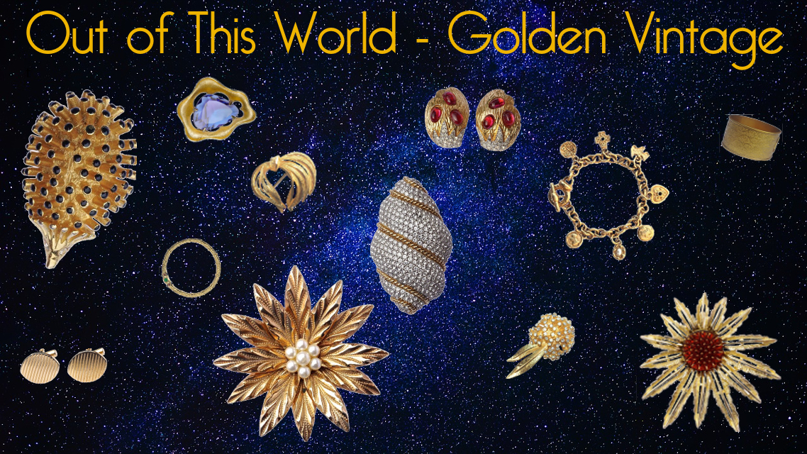 Arabella Bianco Front Page - Out of this World - Golden Vintage