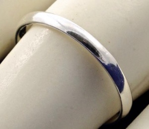 Sterling Silver Plain and Simple Band Ring