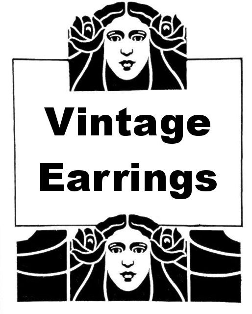 Vintage Earrings Heading