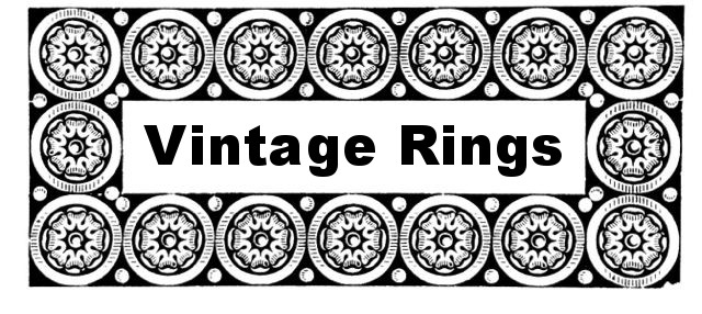 Antique and Vintage Rings Heading
