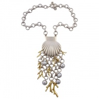 Marc by Marc Jacobs Seashell Underwater Design Neckace