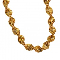 Premier Designs Gold Plated 30 inch Twist Necklace