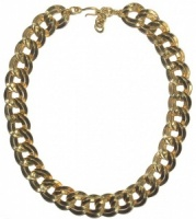 Vintage Chain Link Necklace by Monet