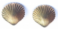 Vintage Shell Earrings by Bartek