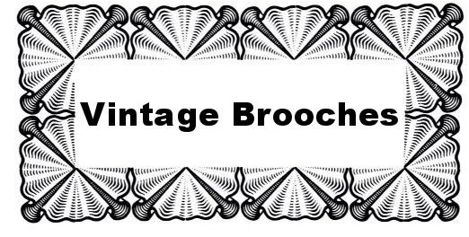 Antique and Vintage Brooches Heading
